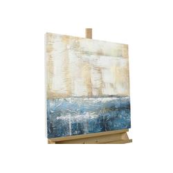 KUNSTLOFT Gemälde Insel der Hoffnung, handgemaltes Bild auf Leinwand