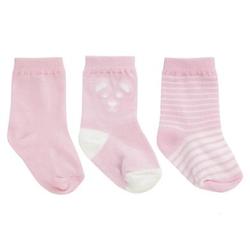 JACKY Babysocken 3er Pack rosa