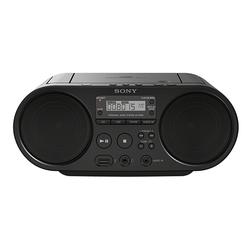 Sony ZS-PS50 Boombox (AM-Tuner, FM-Tuner, 4 W, CD-Laufwerk, Front-USB, MP-3) schwarz
