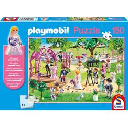 Schmidt Spiele - Puzzle - Playmobil - Hochzeit 150 Teile