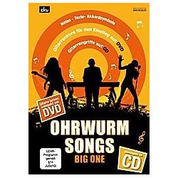 Ohrwurm Songs - Big One  für Gitarre  m. Audio-CD u. DVD. Sven Kessler  - Buch