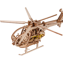 WoodenCity Helicopter, Bausatz