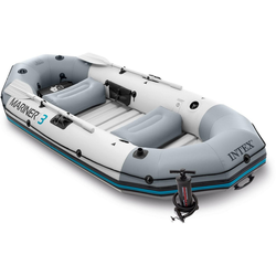Intex Schlauchboot INTEX 68373NP Mariner 3 Schlauchboot-Set inkl. Paddel u. Pumpe