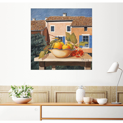 Posterlounge Wandbild, Mediterranes Leben 40 cm x 40 cm