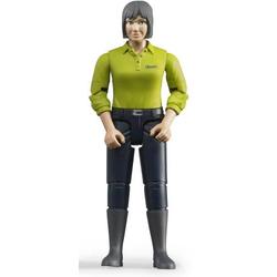 Frau mit hellem Hauttyp/dunkelblaue Hose
