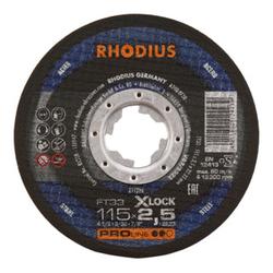 RHODIUS PROline FT33 X-LOCK Freihandtrennscheibe 125 x 2,5 x 22,23 mm