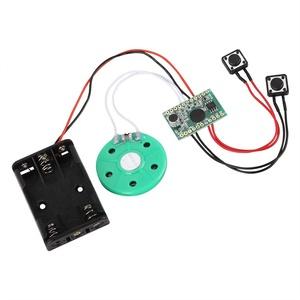 Voice Module, DIY Grußkarten Chip 60 Sekunden Musik Sound Voice Recorder Music Board Modul für Vocie Grußkarte