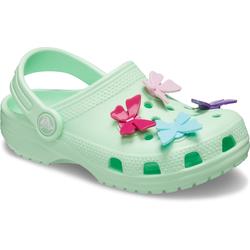 Crocs Kinder Classic Butterfly Charm Clog, 28-29