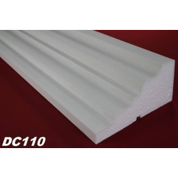 DC110 Fensterbankprofil Fenster Zierprofil 235x115mm Fassadenprofil Fassadenstuck Profil Leiste 200cm