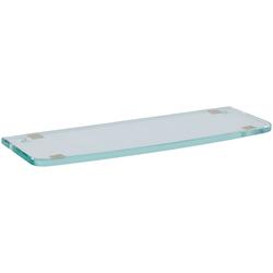 Keuco Wandregal Elegance, Kristallglas-Platte lose 360 x 131 x 10 mm