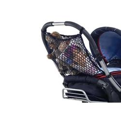 Einkaufsnetz für Kinderwagen, schwarz