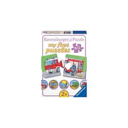 Ravensburger Puzzle 9er Set Puzzle, je 2 Teile, 18x 10 cm,, Puzzleteile