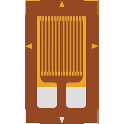 Dehnmessstreifen 1 St. ECF-350-1.5AA-(16)-O-SP (L x B) 4.5mm x 3.5mm