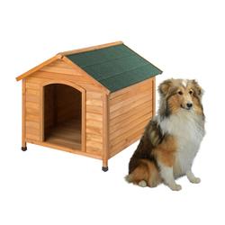 Holz Hundehütte Hundehaus Rocky 111x96x94 cm