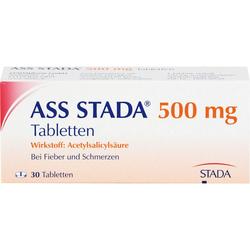 ASS STADA 500 mg Tabletten 30 St.