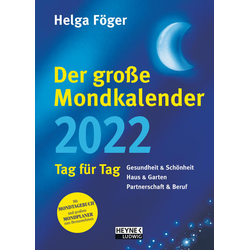 Der große Mondkalender 2022