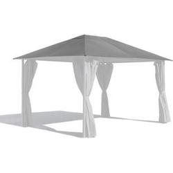 Grasekamp Ersatzdach 3x4m Gartenpavillon Nizza  Grau Pavillon Partyzelt