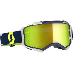 Scott Fury blau/graue Motocross Brille, blau
