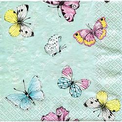 """Papierservietten """"Schmetterlinge"""", 33 x 33 cm, 20 Stück"""
