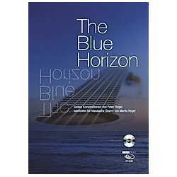 The Blue Horizon  Gitarre  m. Audio-CD. Peter Finger  - Buch