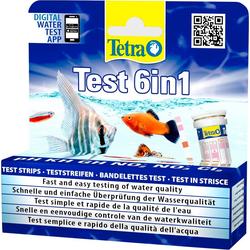 Tetra Wasserteststreifen 6-in-1, 25-St.