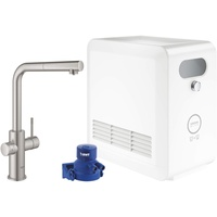 GROHE Blue Professional L-Auslauf Set SuperSteel (31326DC2)