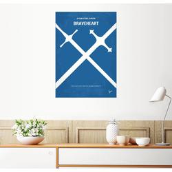 Posterlounge Wandbild, Premium-Poster Braveheart 50 cm x 70 cm
