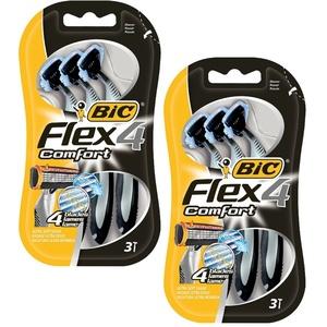 BIC Flex 4 Comfort Herrenrasierer – 3 x 2 (2)