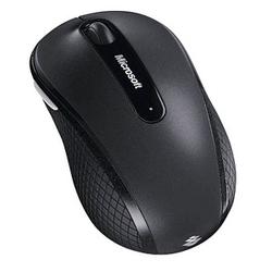 Microsoft Wireless Mobile Mouse 4000 Maus kabellos grau