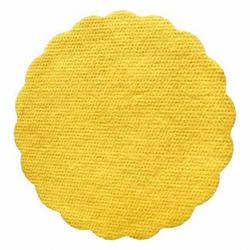 Tassenuntersetzer Glasuntersetzer, Airlaid, Ø 9cm, gelb, 500 Stk.
