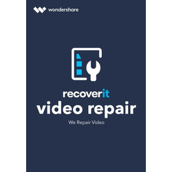 Wondershare Recoverit Video Repair Tool für Mac