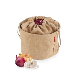 TESCOMA Gemüsebeutel Jute Kartoffel Gemüse Knoblauch Aufbewahrung 4Food 8,5 l