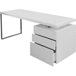 SalesFever Schreibtisch, inkl. Container mit 3 Schubladen