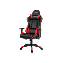 ebuy24 Gaming-Stuhl Paracon Rogue Gaming Stuhl inkl. Nackenkissen und rot