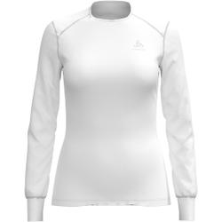 Odlo - T-shirt ML Warm W White - Unterwäsche - Größe: XL