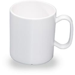 WACA Becher (4-tlg), 325 ml, Kunststoff weiß