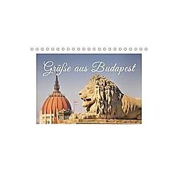 Grüße aus Budapest (Tischkalender 2021 DIN A5 quer)