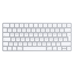 Apple Magic Keyboard, silber - Deutsches Layout