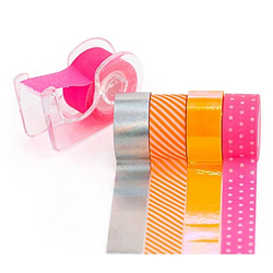 Deko-Tape-Mini, neon, 12 mm, 15 m