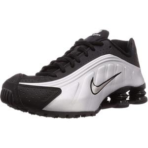 Nike Herren Shox R4 (Black/Black-Metallic-Silber), Schwarz (Black/Black-metallic Silver), 39 EU