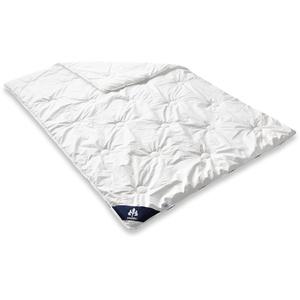 Badenia Bettcomfort Steppbett Irisette Atmosphere Mono Ganzjahresdecke, 135 x 200 cm, weiß