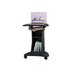 HOMCOM Laptoptisch Laptoptisch mit Rollen und Ablagefläche