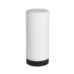 WENKO Easy Squeez-e Spülmittelspender, 250 ml, Nachfüllbarer Seifen- und Spülmittelsdosierer ideal für Küche, Bad und Gäste-WC, Farbe: weiß