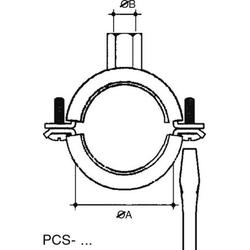 Niedax Rohrbefestigung PCS-2025