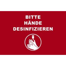 Novus Fußmatte 60x90 Hände desinfizieren