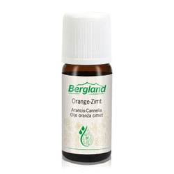 Bergland Aromatologie Orange-Zimt olejek zapachowy  10 ml