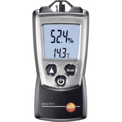 Testo 610 Luftfeuchtemessgerät (Hygrometer) 0% rF 100% rF Taupunkt-/Schimmelwarnanzeige