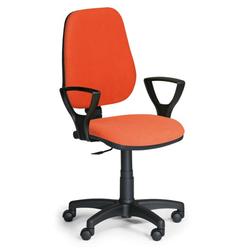 Bürostuhl comfort pk, mit armlehnen, orange