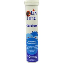 Activline Calcium Zitrone Brausetabletten