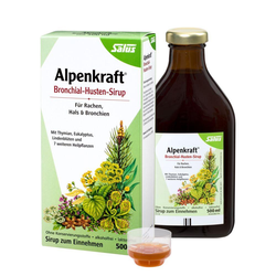 ALPENKRAFT Bronchial-Husten-Sirup Salus